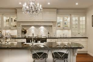 Country Kitchen With White Cabinets by French Country Kitchen Cabinets Design Ideas