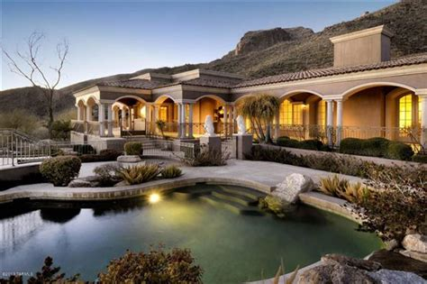 Incredible Tucson Mansion Arizona Luxury Homes Luxury Homes Tucson Az