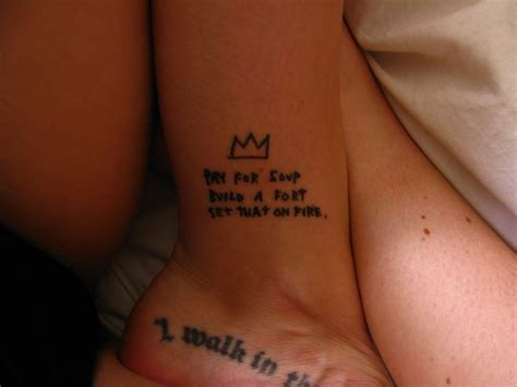 basquiat tattoo basquiat crown meaning search