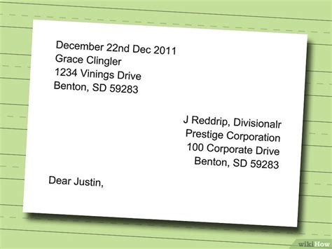 how to write address on a letter c 243 mo redactar una carta de renuncia 11 pasos