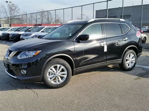 2016 Nissan Rogue Sv Awd Black Sherway Nissan Car