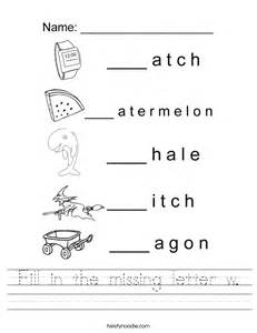 image gallery letter w worksheets