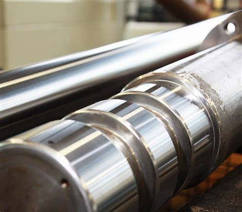 Stahlwelle Polieren by Metallveredelung Und Hochwertige Vor Und