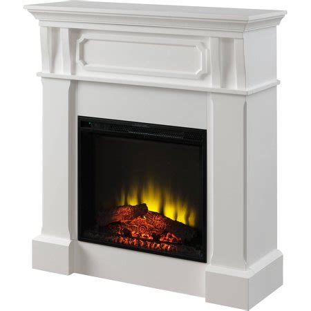 electric fireplaces at walmart prokonian electric fireplace with 40 quot mantel spb14006c