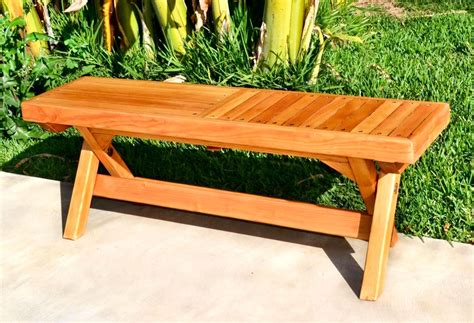 how to make a garden bench from a pallet popular diy garden benches you can build it yourself