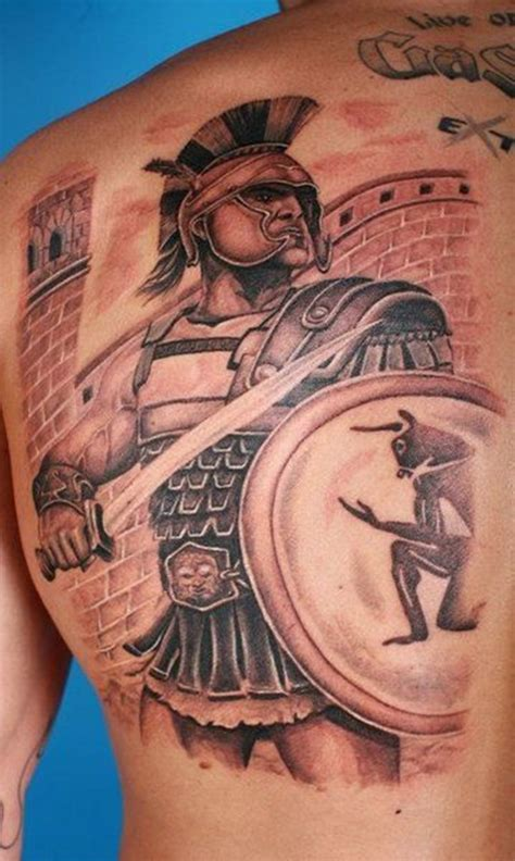warrior tattoo designs for men 25 amazing warrior tattoos