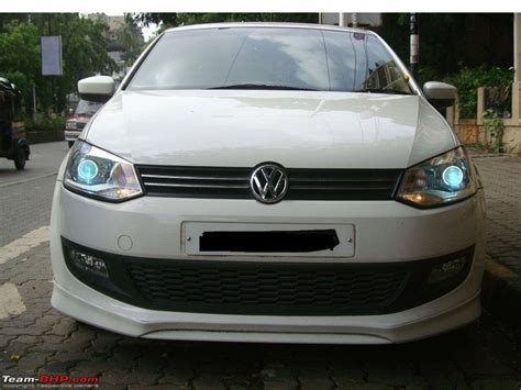 volkswagen polo headlights modified volkswagen polo headlights modified