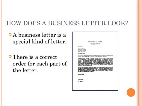 Business Letter Format Grade 8 Writing A Business Letter Grade 8 How To Write A Business Letter With Sle Letters