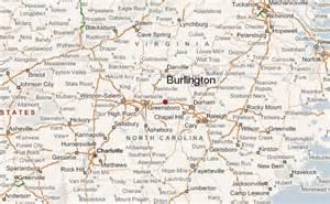 map of burlington carolina burlington carolina location guide