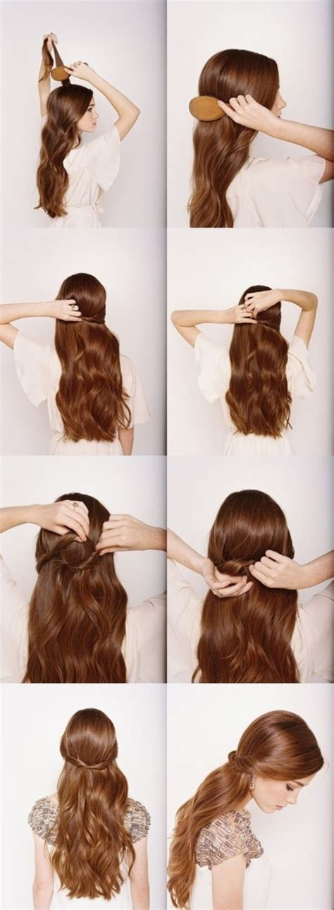 easy diy hairstyles for long curly hair 101 easy diy hairstyles for medium and long hair to snatch
