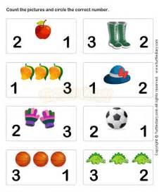 learn numbers worksheet3 math worksheets preschool