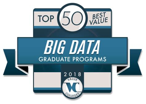 Top Doctoral Programs In Business 5 by Top 50 Best Value Big Data Graduate Programs 2018 Value