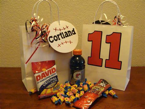 shea s crafty corner baseball goodie bags and secret to