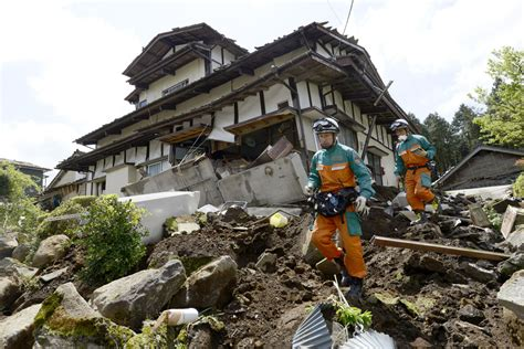 earthquake in japan earthquakes strike japan