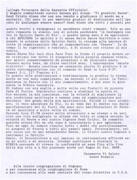 lettere ad un amico lontano lettera di dimissioni 5 statuto soccorso spirituale