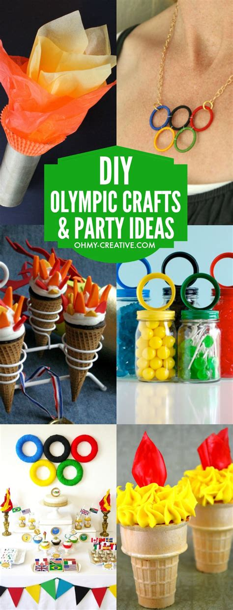 diy projects for craft diy olympic crafts and ideas oh my creative