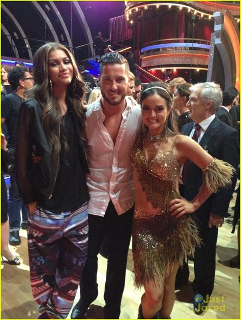 val chmerkovskiy i was in love with danica mckellar zendaya surprises val chmerkovskiy with tons of balloons