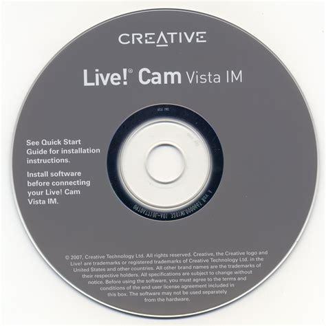 creative l creative live cam vista im creative free download