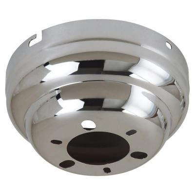 Ceiling Fan Canopy sea gull lighting chrome flushmount ceiling fan canopy 1631 05 the home depot