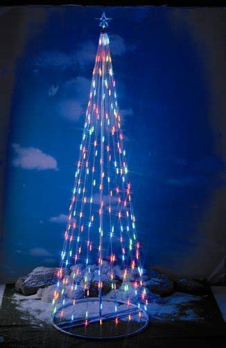collapsible tree with lights review 180 in outdoor led light cone tree with collapsible base