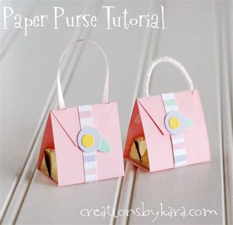 Paper Purse Craft - paper purse tutorial www pixshark images galleries