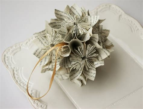 Attractive Where Can I Donate Christmas Decorations #5: Book-page-christmas-ornaments-small-tree-ball-craft-reused-paper-decoration-ideas.jpg