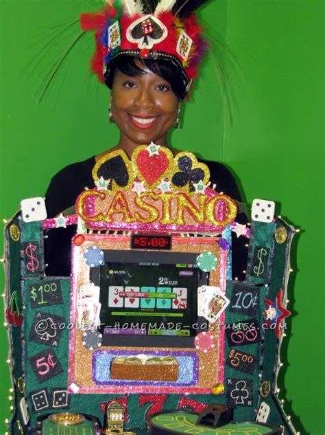 cool luck working casino costume