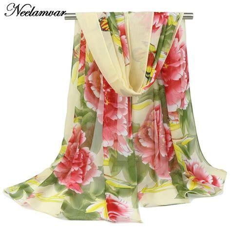 Pashmina Motif Flowers 1 new 2015 and autumn fashion shawl peony