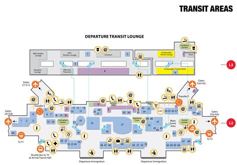 map of singapore airport terminals exploring changi airport terminal 2 dreamtraveljournal