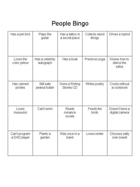 icebreaker template how to play the breaker bingo the guest