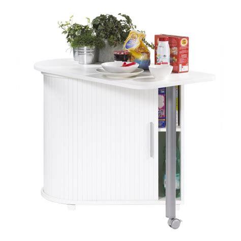 meuble cuisine avec table int馮r馥 table pivotante et meuble de rangement de cuisine blanc