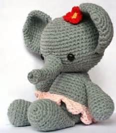 ravelry elephant roosje pattern by christel krukkert