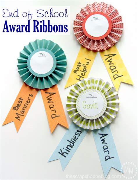 Handmade Medals - end of school award ribbons tauni co