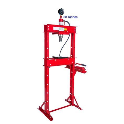 presse hydraulique 20 tonnes verin hydraulique avec pompe