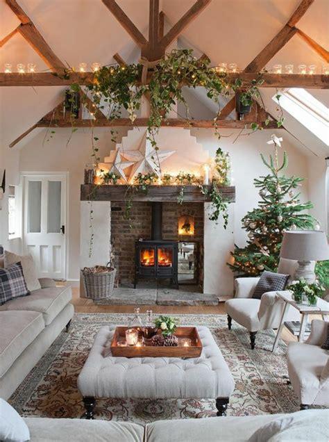 Weihnachtsdeko Landhausstil Weiß by Design Basteln Kamin