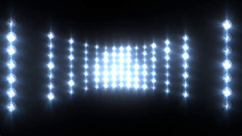blue wall of lights concert stage sports stadium