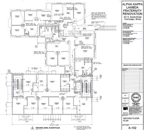 fraternity house floor plans fraternity house floor plans