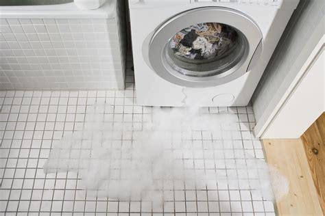 what causes washing machine or washer leaking