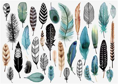 Feather Pattern Top 25 best ideas about feathers on feather feather garland and feather pattern