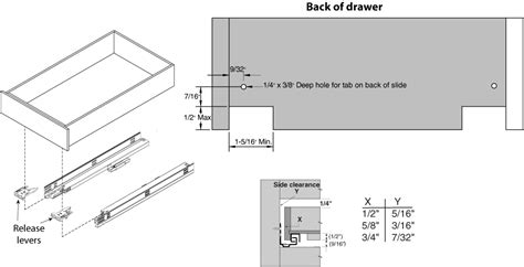 kv drawer slides installation hardware distributors ltd