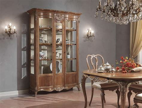 Dining Room Showcase Design Dining Room In Louis Xv Style Vimercati Classic