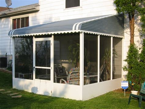Awning Enclosure screened aluminum pato enclosure awning yelp