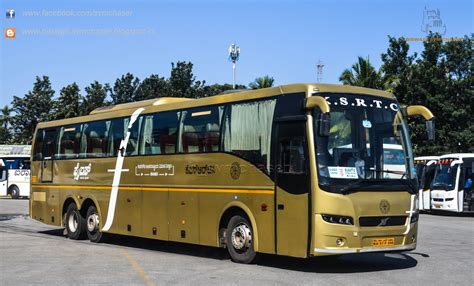 Ksrtc Sleeper Booking by Ksrtc Flybus Volvo B9r Multiaxle Semi Sleeper Ka57 F 356