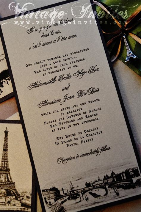 Wedding Invitations Cities vintage wedding vintage invites wedding