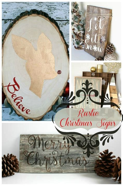 rustic christmas signs  love  lovely