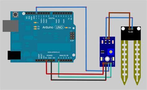arduino code moisture sensor m 243 dulo sensor de umidade do solo higr 244 metro arduino yl 69