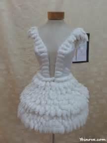 quiero ver imagenes de vestidos hechos en porcelana fria vestidos hechos con materiales reciclables imagui