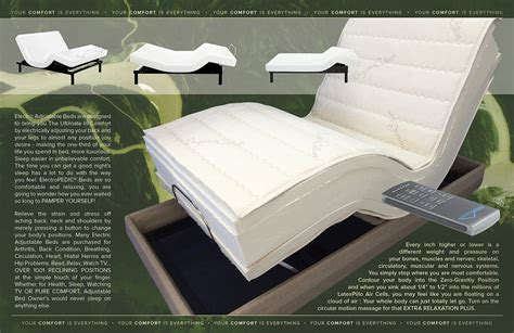 Futon Mattress Houston by All Electric Adjustable Bed Mattresses Are Available In