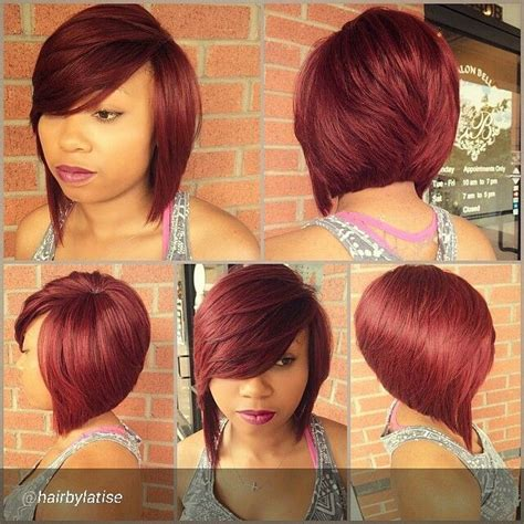 inverted bob with weave 516 best images about bob cuts on pinterest feathered