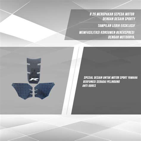 Yamaha Tank Pad R25 90798c009200 15 daftar harga aksesoris yamaha r25 original terbaru